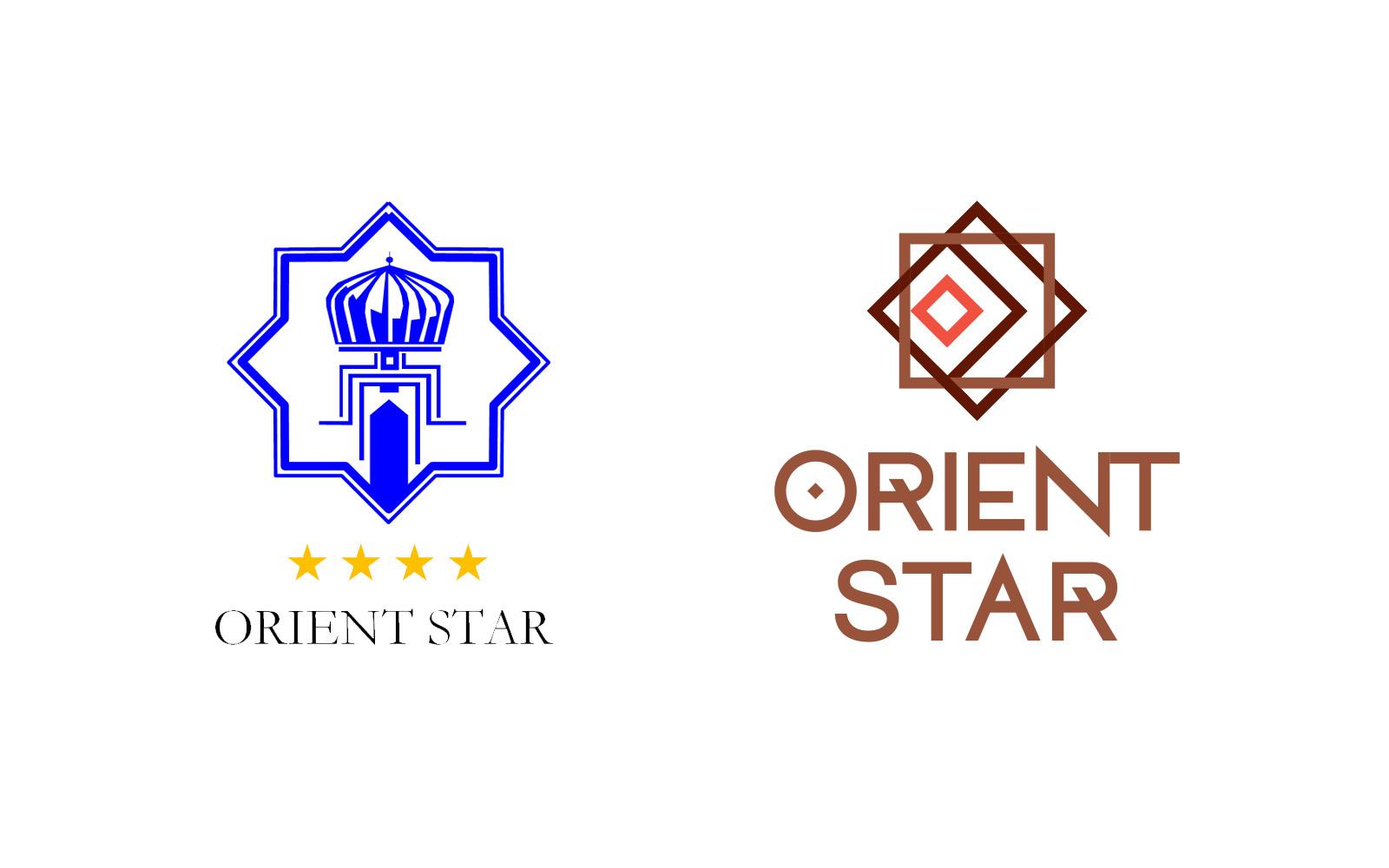 Айдентика для сети отелей Orient Star