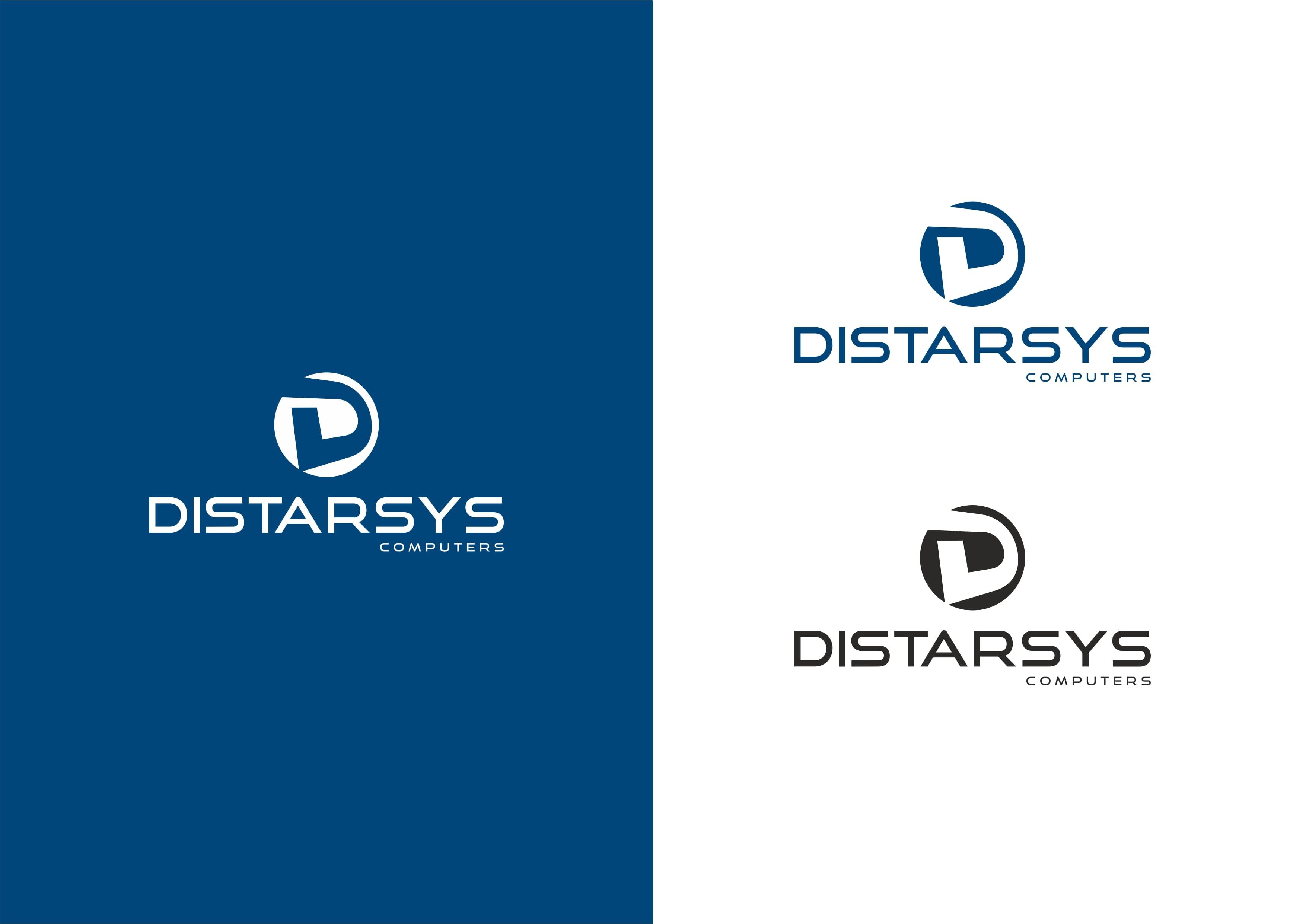 "Нейминг, логотип и фирменный стиль ""DISTARSYS"""