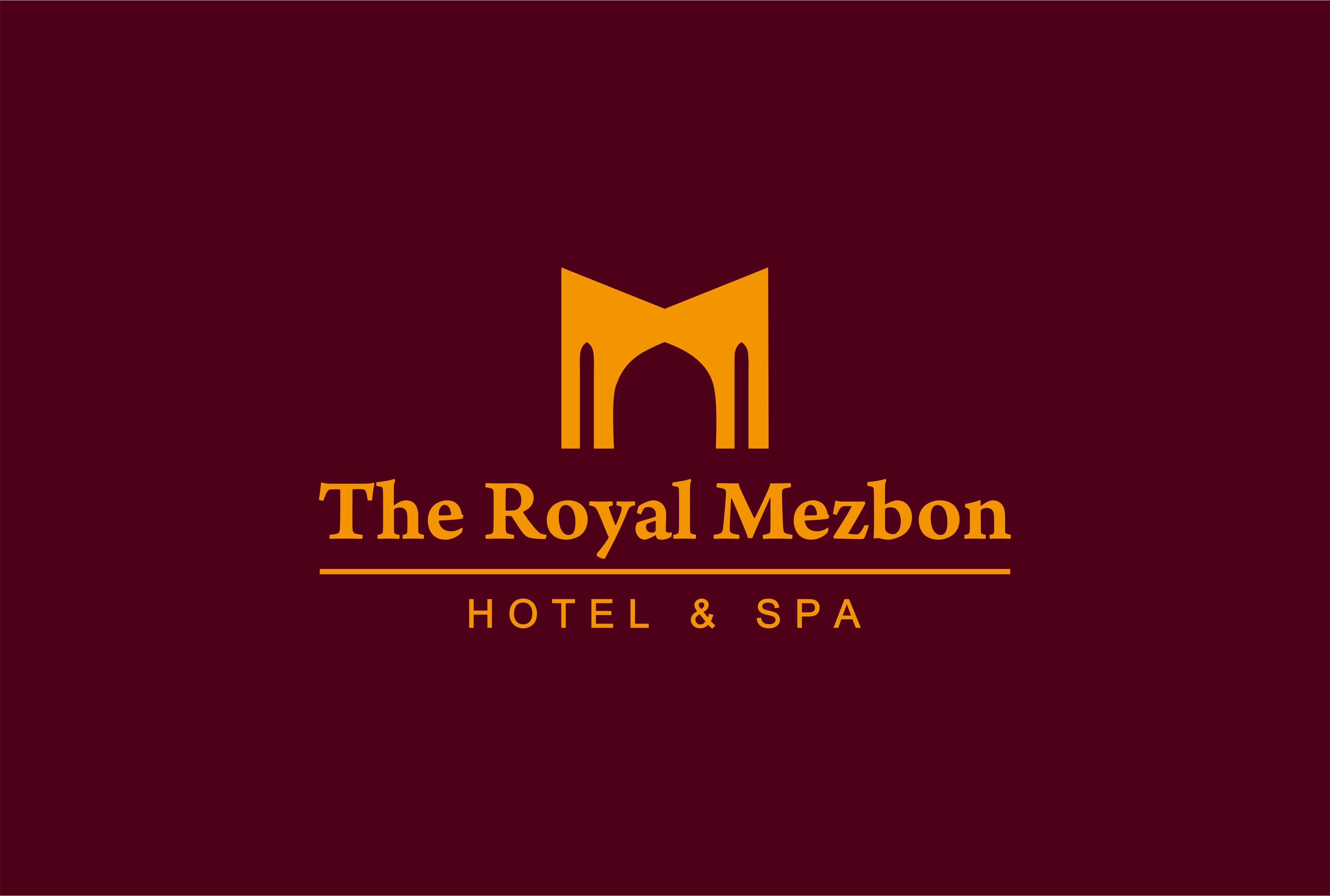 Логотип и фирменный стиль для гостиницы THE ROYAL MEZBON